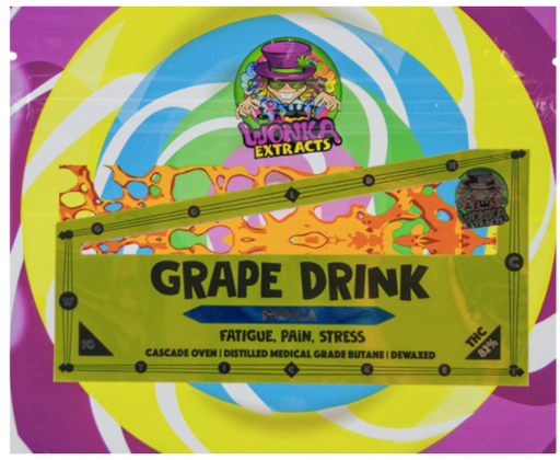 Grape Drink Shatter - Wonka Extracts