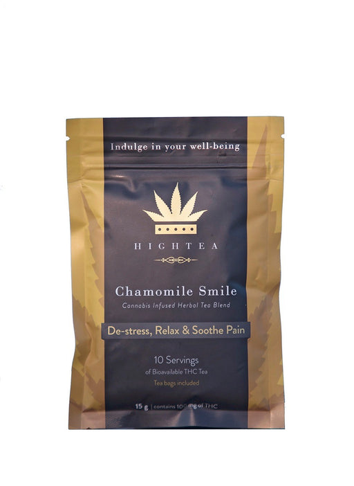 High Tea - Chamomile Smile Tea - 100mg THC