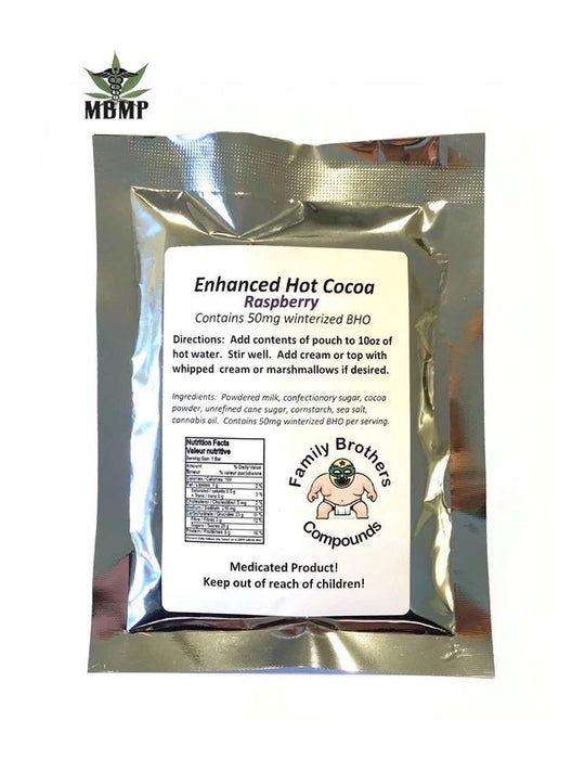 Family Brothers - THC Infused Hot Cocoa - Raspberry – 50mg