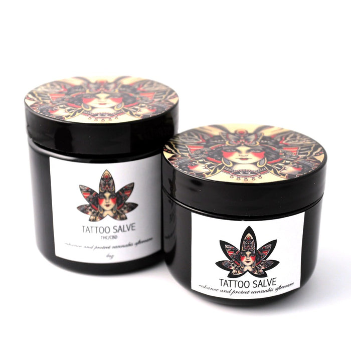 Green Therapy Cannabis Tattoo Salve