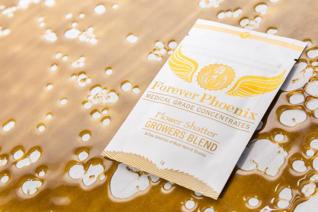 Growers Blend Flower Shatter by Forever Phoenix