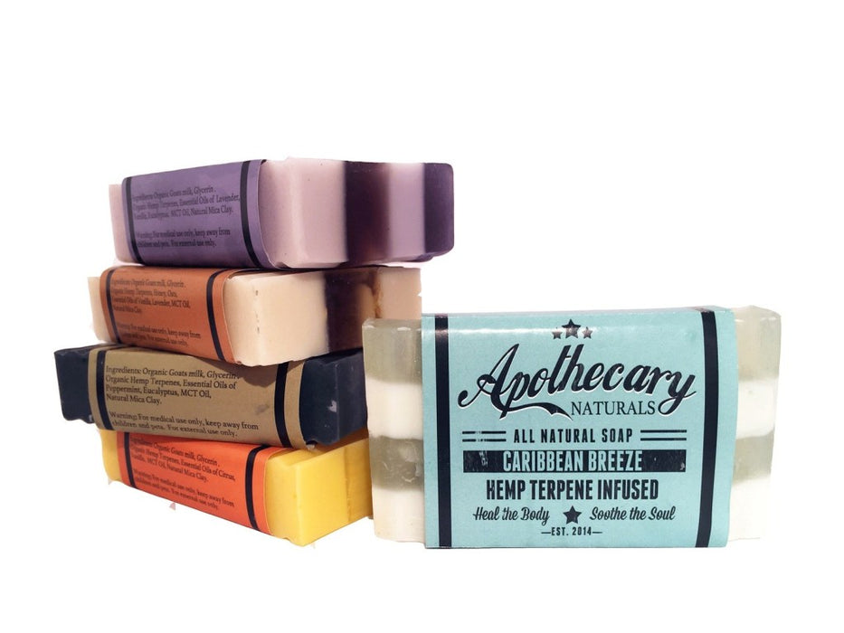 Apothecary Organic CBD Infused Medicated Soap