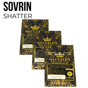 Super Lemon Haze Shatter by Sovrin - Sativa