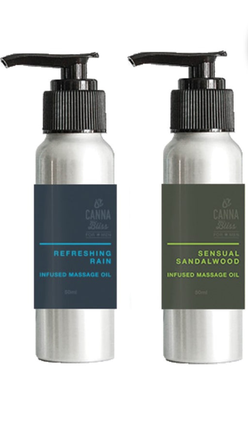 Infused Massage Oil 595mg THC - FOR MEN