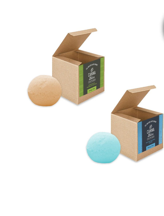 Infused Bath Bombs 50mg THC - FOR MEN