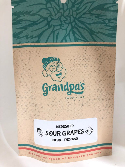 Grandpa's – Sour Grapes (100mg THC)