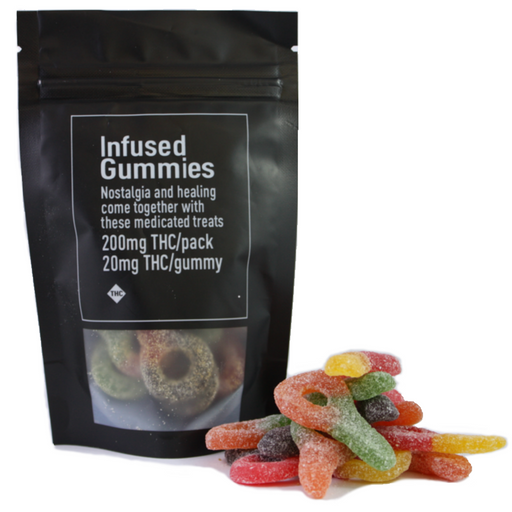 Infused Sour Keys – 200mg THC