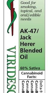 VIRIDESCO OIL - V-RSO AK-47/Jack Herer Blended