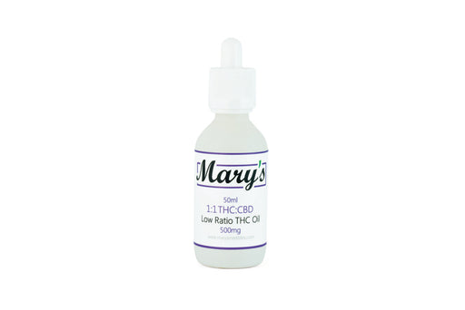 Mary's 1 to 1 Tincture (500mg THC/500mg CBD)