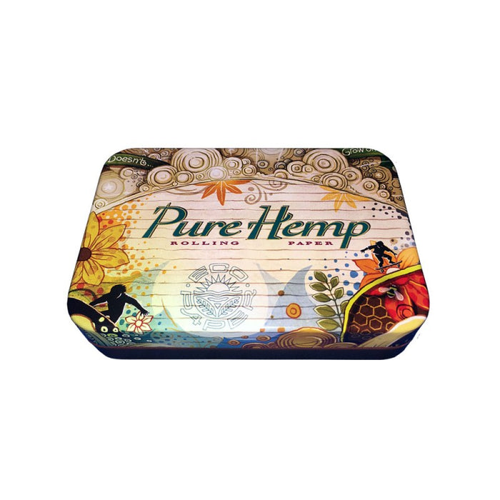 "Pure Hemp 3 3/4"" x 2 1/2"" Tin"