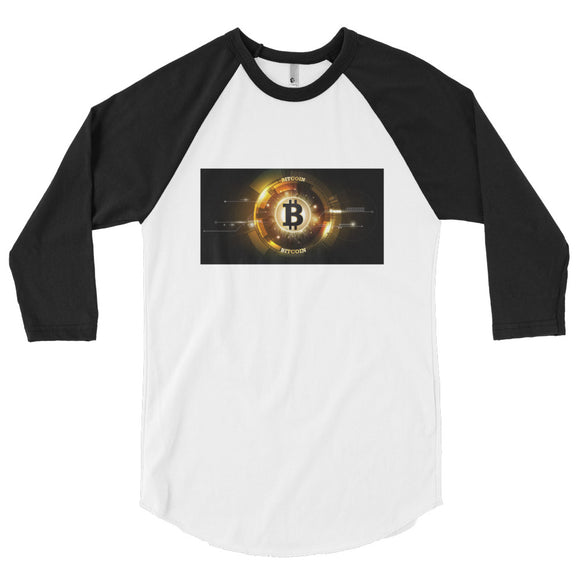 Bitcoin 3/4 sleeve shirt