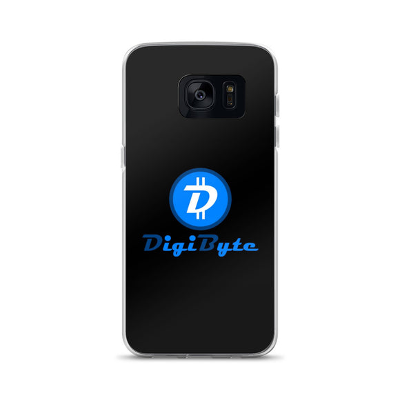 DigiByte Black Samsung Case