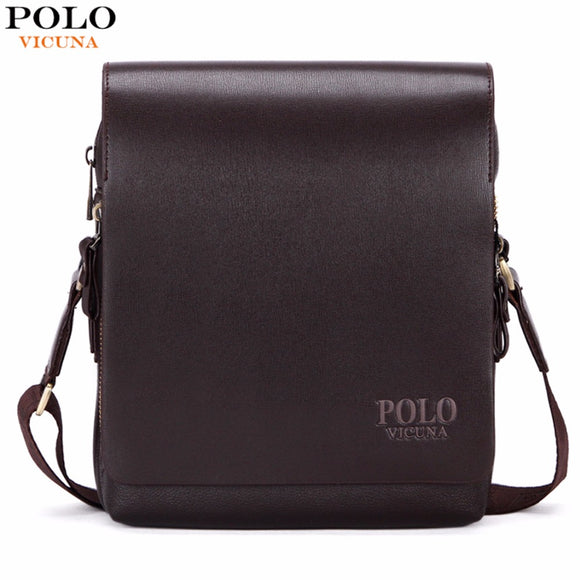 VICUNA POLO New Arrival Fashion Business Leather Bag