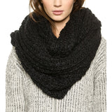 New Autumn FKnitting Pullover Soft Warm Casual Scarf