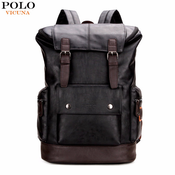 VICUNA POLO Leather Backpack