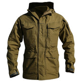 Casual Army Windbreaker Coat