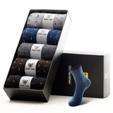5 Pair Men Cotton Socks Long