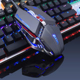 ZUOYA Gaming Mouse 3200DPI  Breathing Backlit 8 button Smart Macro Mouse
