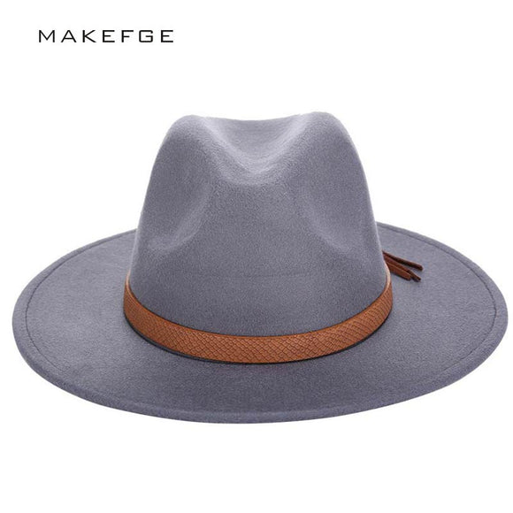 Autumn Winter Men Fedora