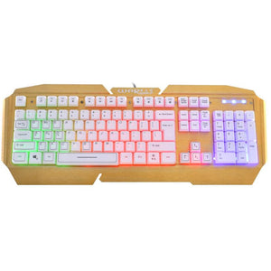 USB Wired Illuminated Colorful Gaming Keyboard [Best Seller]