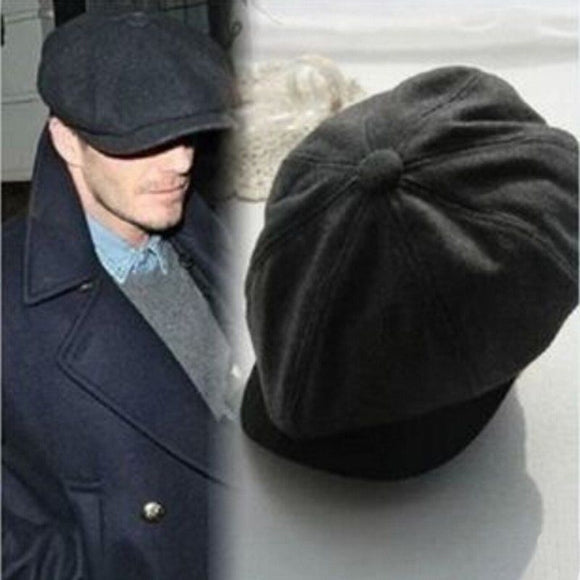 New Arrival Tweed Herringbone Gatsby Baret