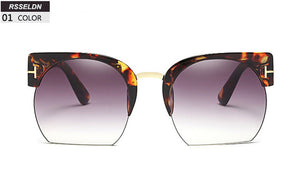Newest Semi-Rimless Sunglasses [New Arrival]