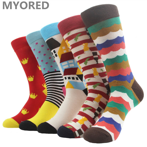 MYORED Fashion Colorful Socks