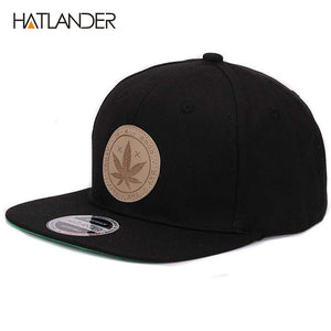 [HATLANDER] Maple Solid Cotton Snapback Caps