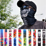 Multicolor Magic Motorcycle Cycling Tube Scarf Headband