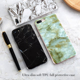 Marble Phone Case For iPhone X 8 7 Plus iPhone 5S SE 5