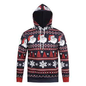 New Fashion Hooded Christmas Hoodies