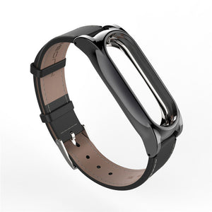 Mijobs Leather Strap For Xiaomi