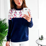 Rogi Floral Print Hoodies[Hot sale]