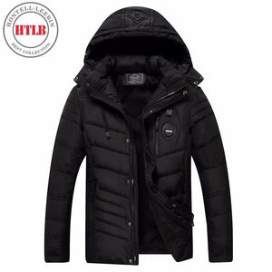 HTLB Brand New Men Winter Fleece Parkas