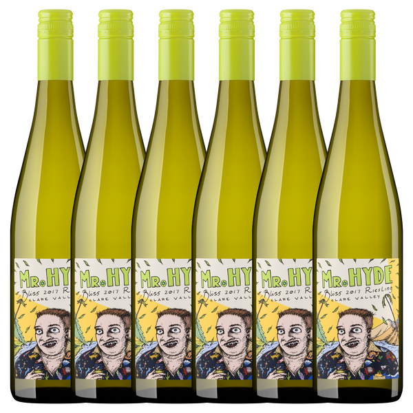CASE of 12 bottles: Bliss 2017 Riesling