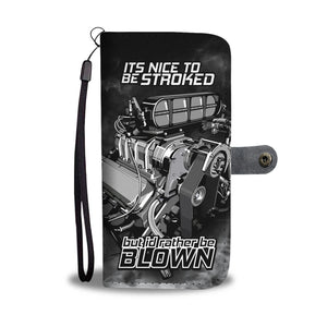 Rather Be Blown Phone Wallet