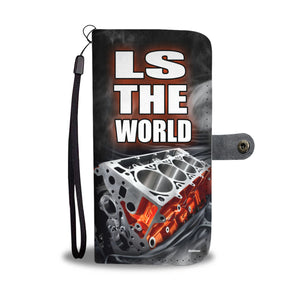 LS THE WORLD PHONE CASE WALLET