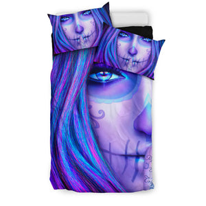 Purple Sins Bedding set