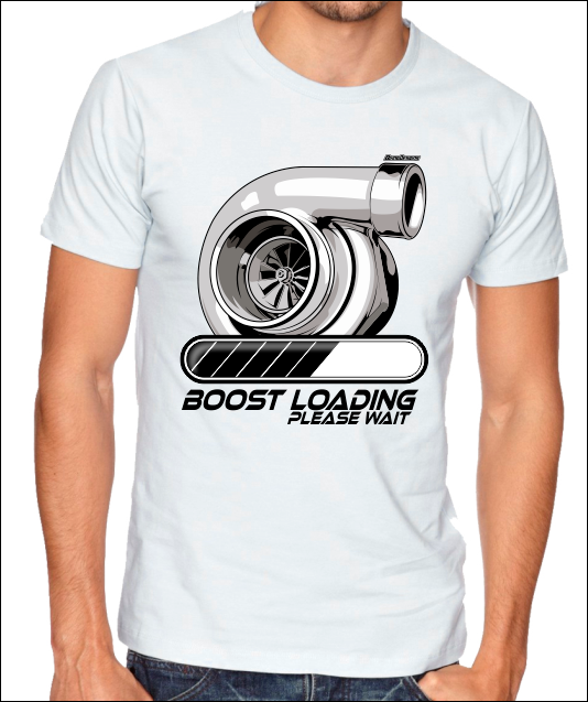 BOOST LOADING Cotton Tee