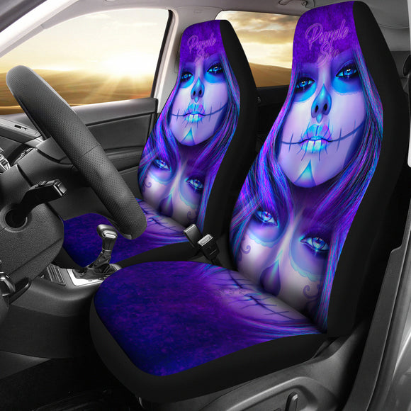 Purple Sins Seat Covers