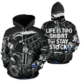Lifes Too Short For Stock Hoodie