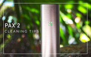 Pax 2 Cleaning Tips