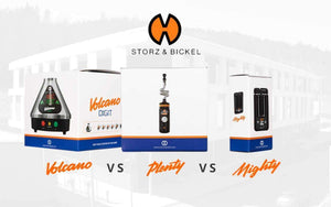 Storz & Bickel - Plenty vs Volcano vs Mighty Comparison