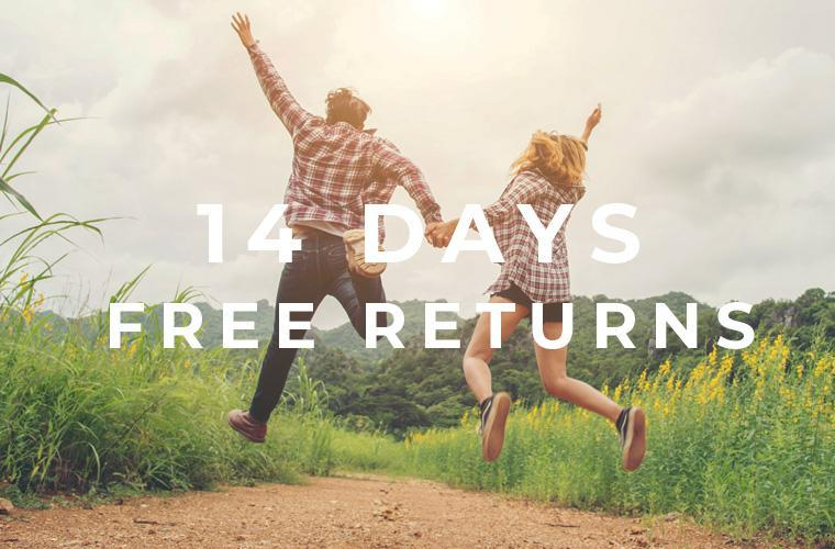 14 Days Free Return