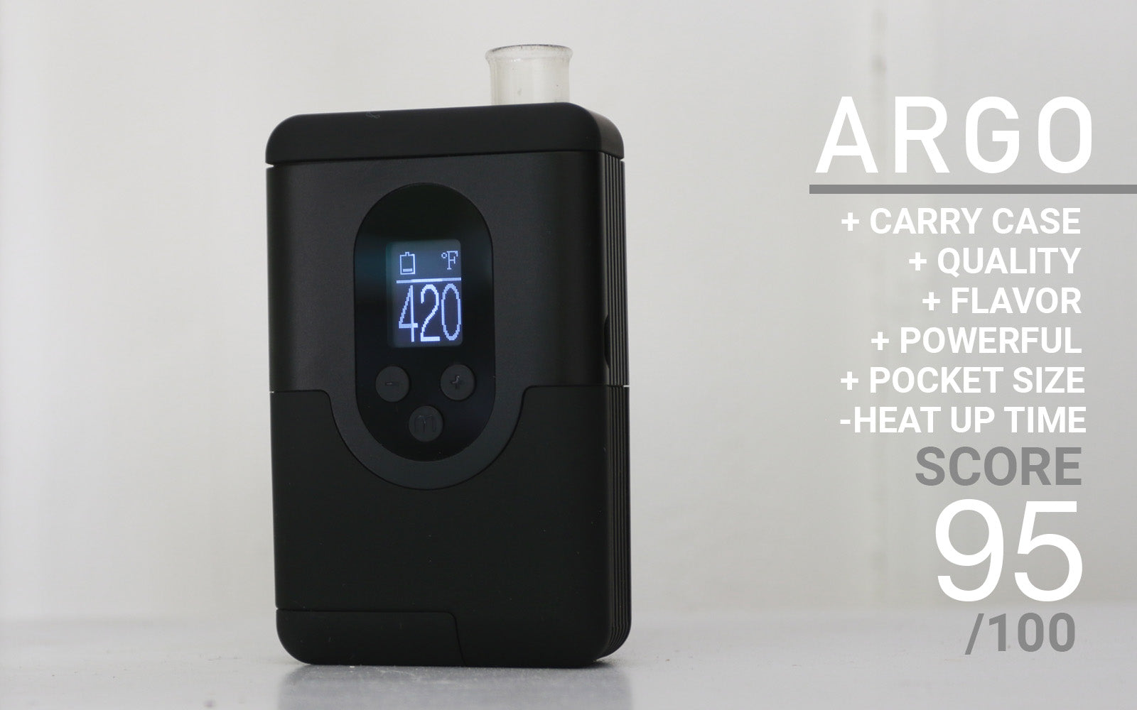 ARIZER ARGO quick review summery
