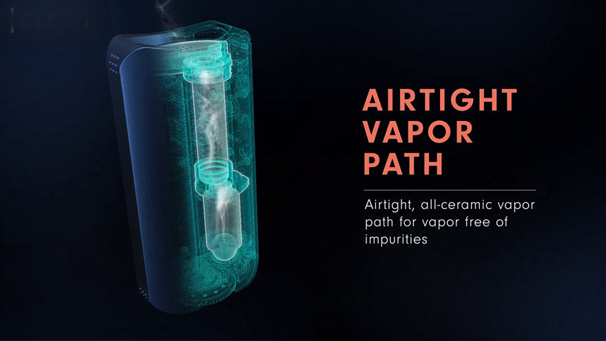 Davinci IQ2 Airtight Vapor path