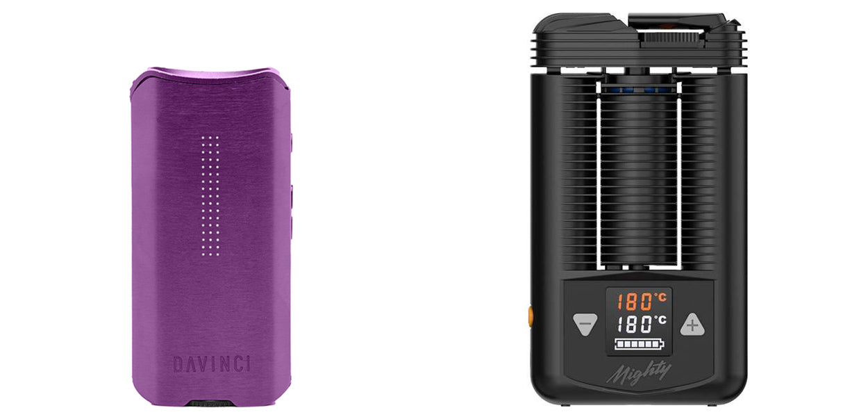 Davinci IQ 2 Vs Mighty Vaporizer Comparison review