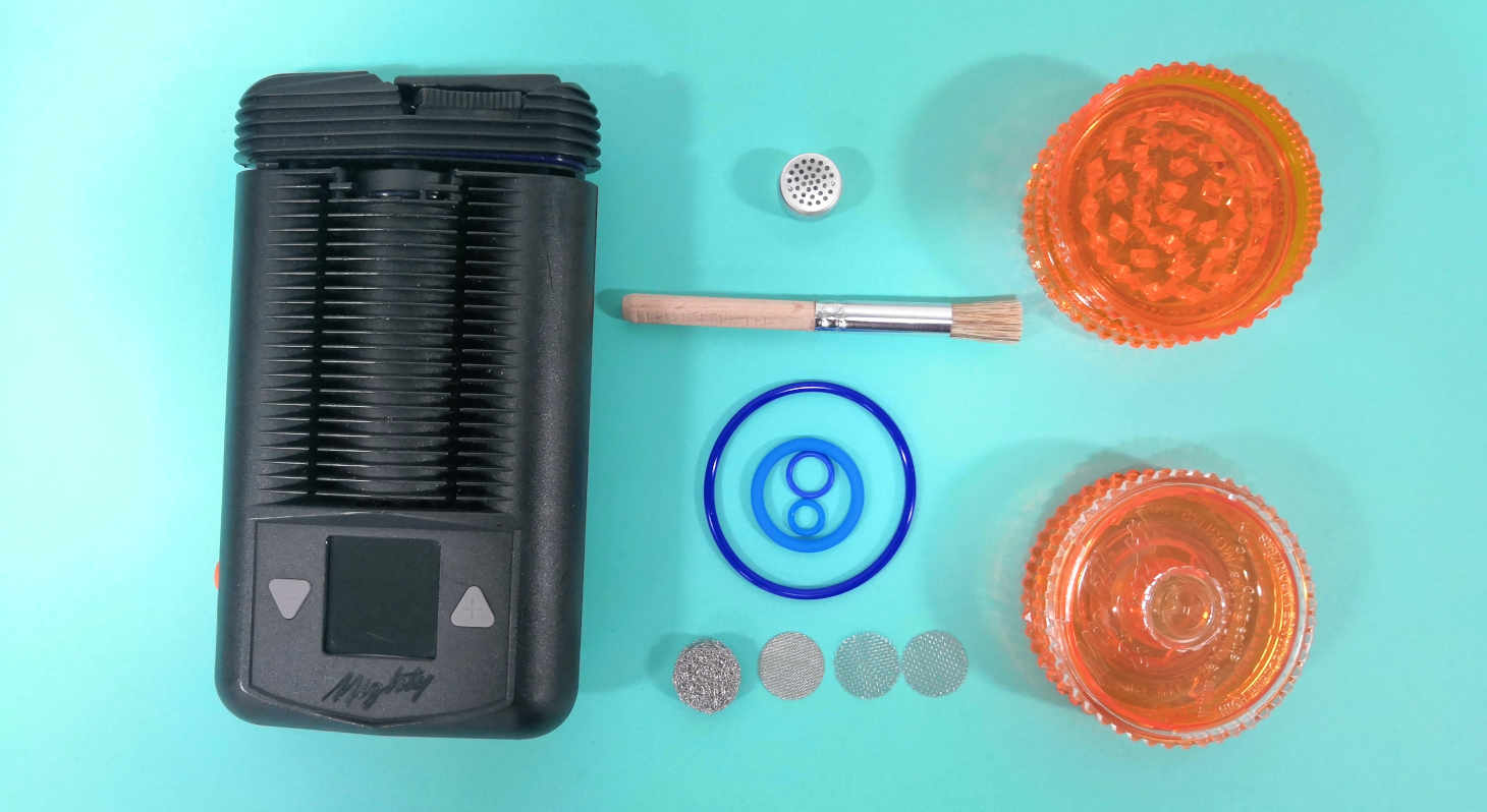 Mighty Vaporizer Box Contents