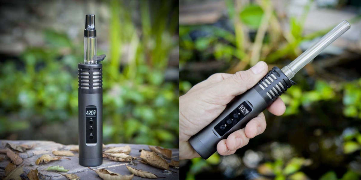 Double Image of Arizer Air 2