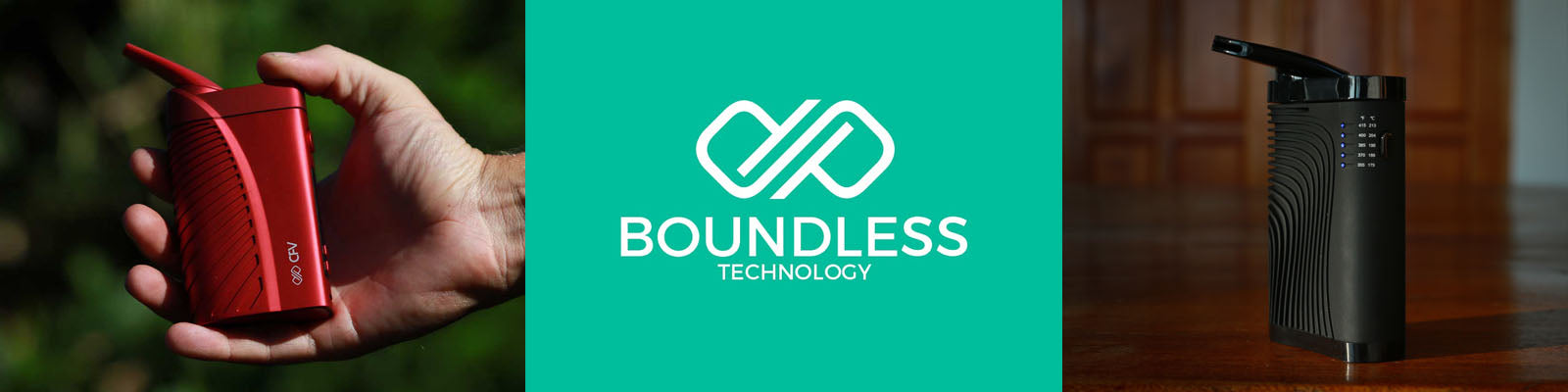 Boundless Vaporizers - Free Shipping & Best Price - Authorized Sellers - Canada